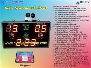 Judo Scoreboard JS-01