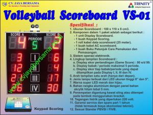 Scoreboard Voli VS-01