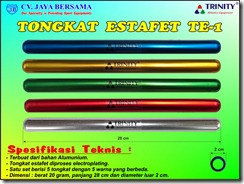 baton, dimensi tongkat estafet, estafet, lari berantai, lari estafet, lari sambung, lomba lari, olahraga athletik, standar, Standar ukuran Tongkat Estafet, The Size of the Standard Stick Relay, tongkat, ukuran