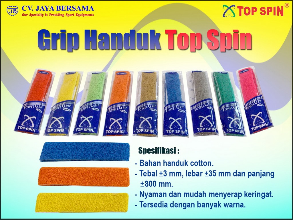 grip badminton, grip handuk, grip kain, grip karet, grip tape, grip tenis, handuk grip, over grip, pembungkus gagang raket, replacement grip, soft grip, grip top spin, top spin towel grip terbaik, towel grip, grip tipis, grip tebal, grip tape, grip tape karet,towel grip,cara memasang towel grip,towel grip vs rubber grip,towel grip badminton,towel grip dead hang,yonex towel grip
